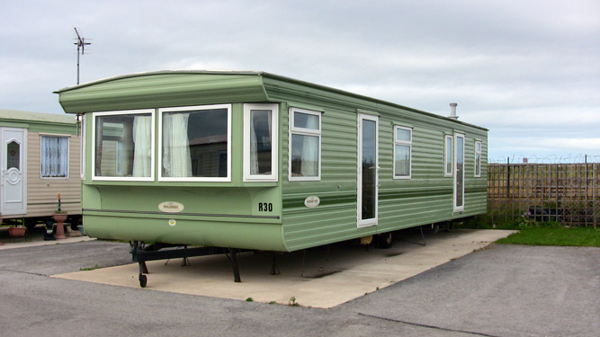 Elegant Static Caravan For Hire At Happy Days Caravan Park Towyn North Wales