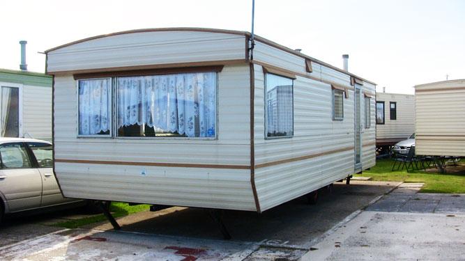 Towyn Caravan Hire Delta Santana 2 Bed 2002, Sited On